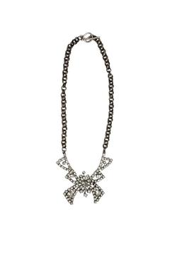 Shoptiques Product: Rhinestone Bow Necklace