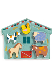 Djeco Relief Puzzles Mowy - Product Mini Image