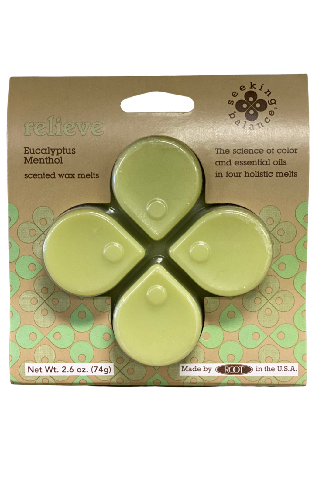 ROOT  Relieve Wax Melts - Main Image