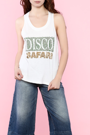 Religion Disco Safari Sequin Tank - Product Mini Image