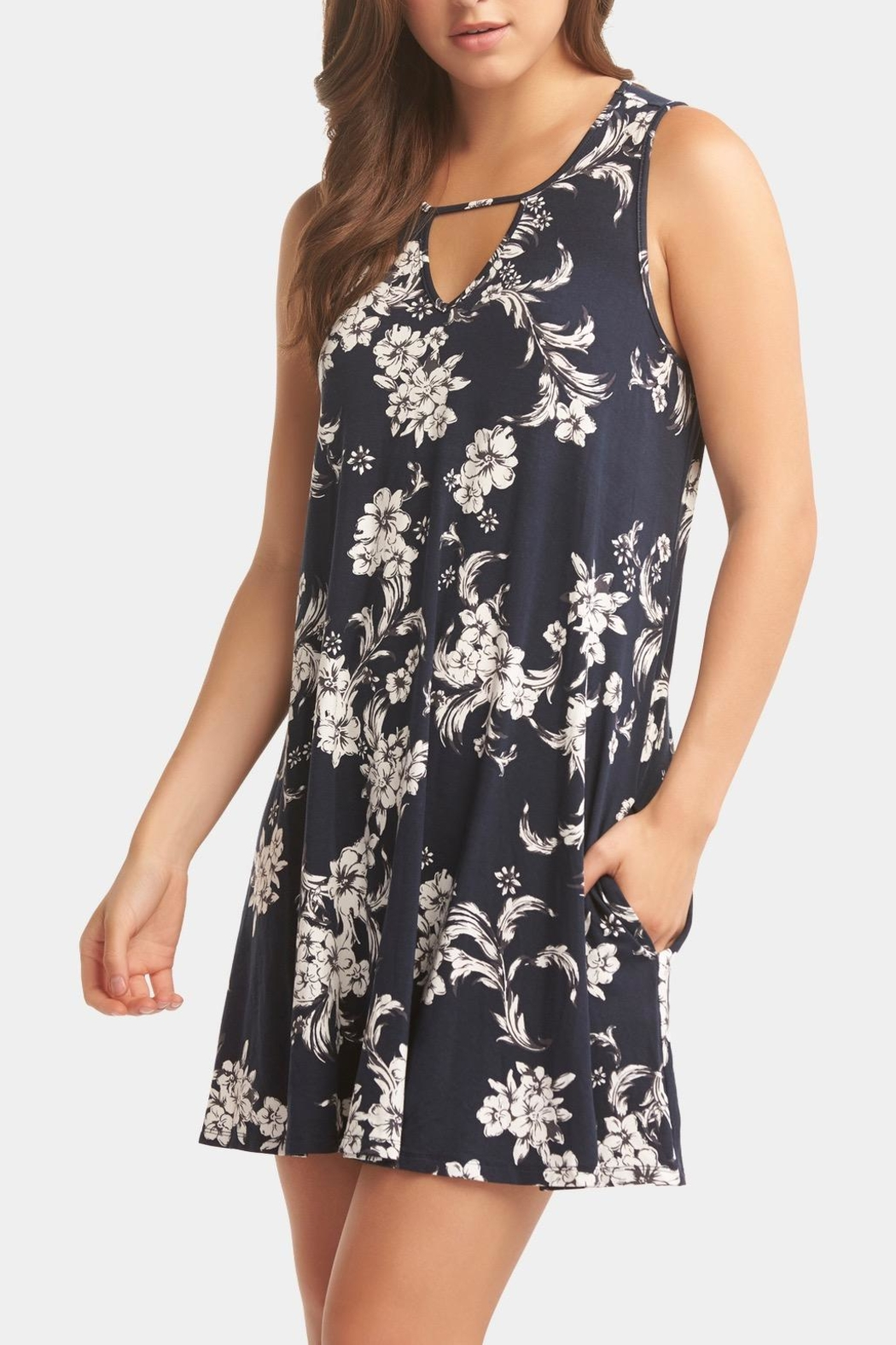 Tart Collections Remington Print Dress - Side Cropped Image