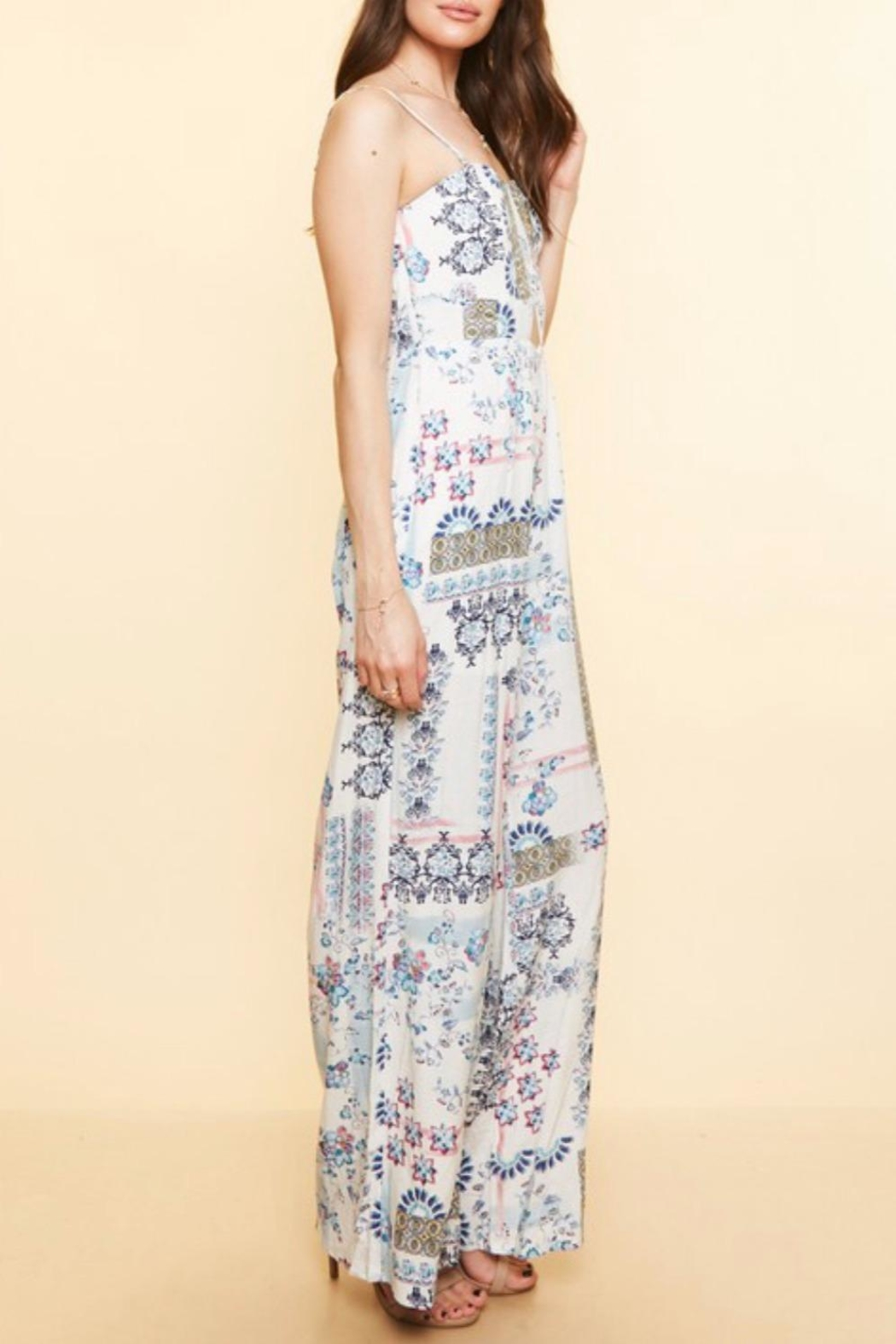 Available Removable  Straps Jumpsuit - Main Image