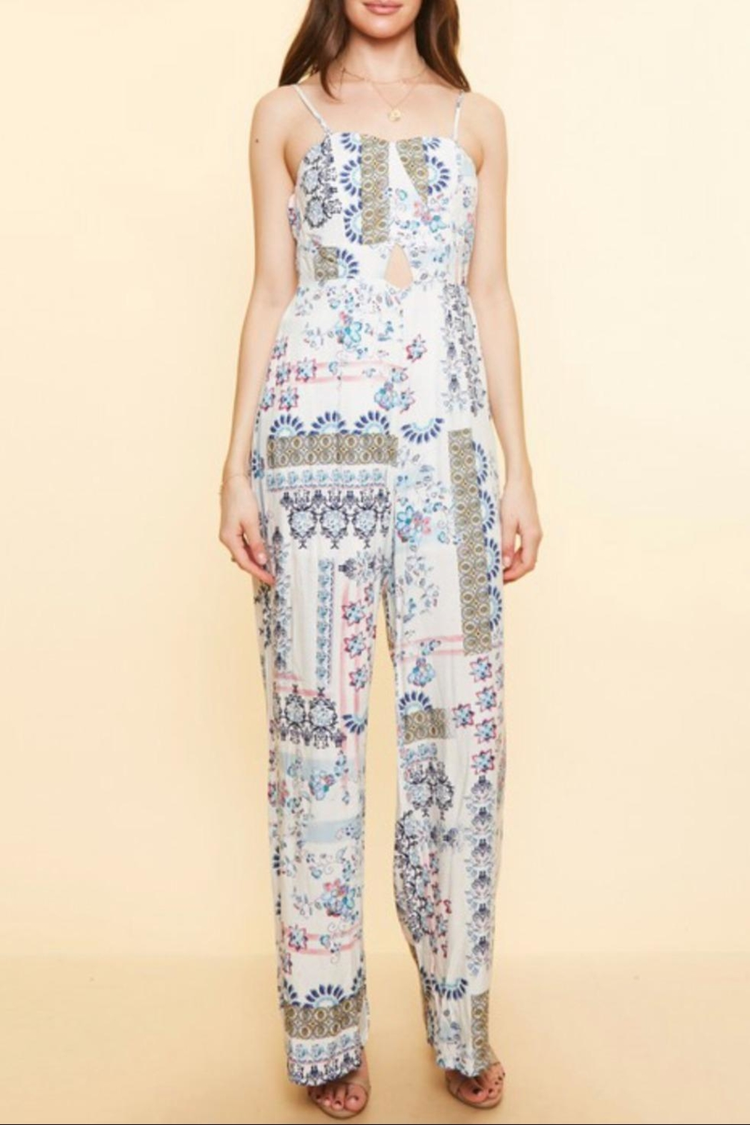 Available Removable  Straps Jumpsuit - Back Cropped Image