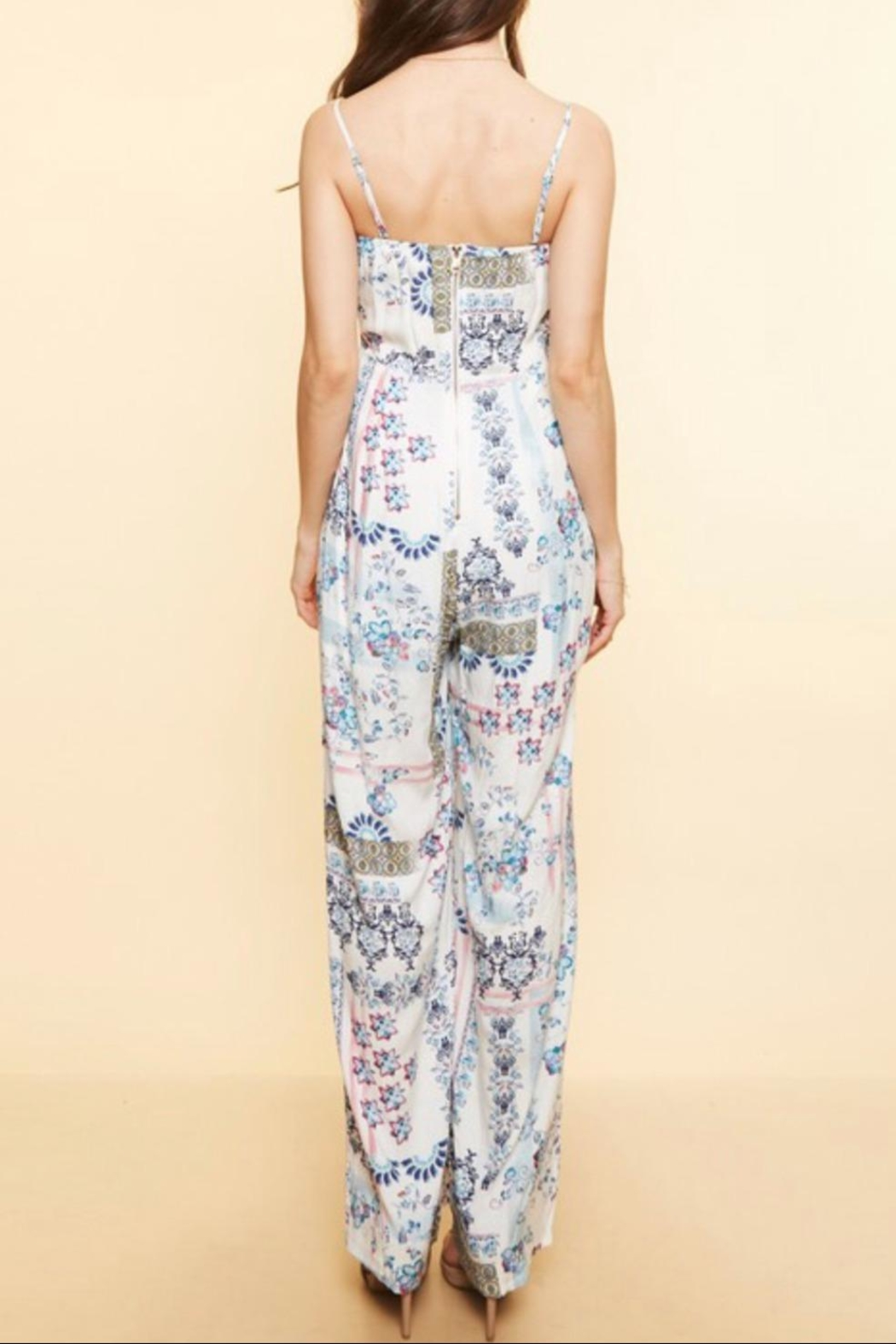 Available Removable  Straps Jumpsuit - Front Full Image