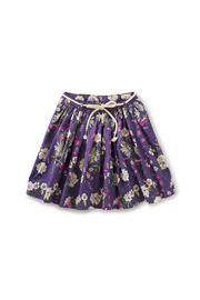 Tea Collection  Removeable Tie Twirl Skirt - Sintra Floral - Product Mini Image