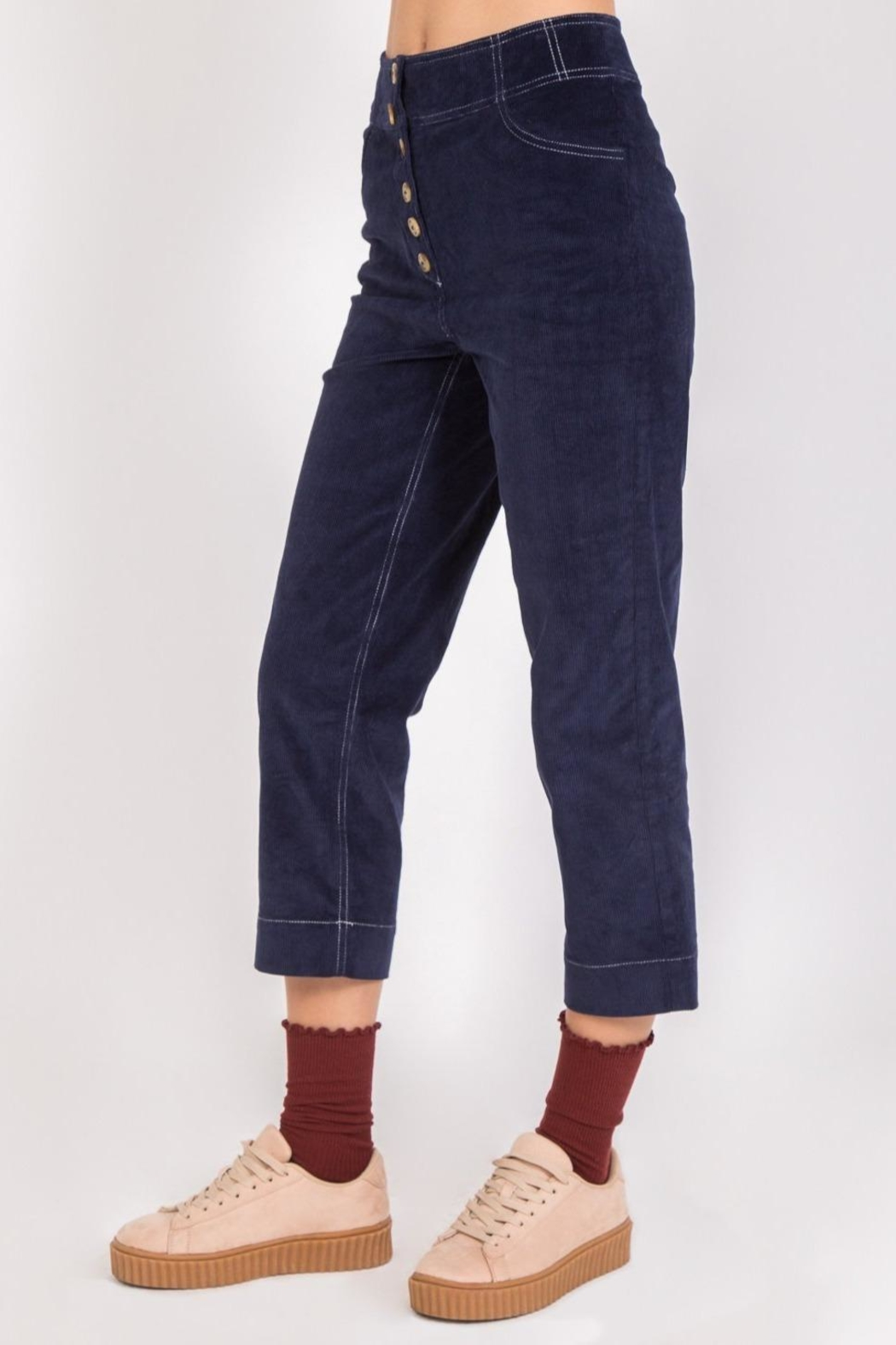 Movint Remy Corduroy Trousers - Front Full Image