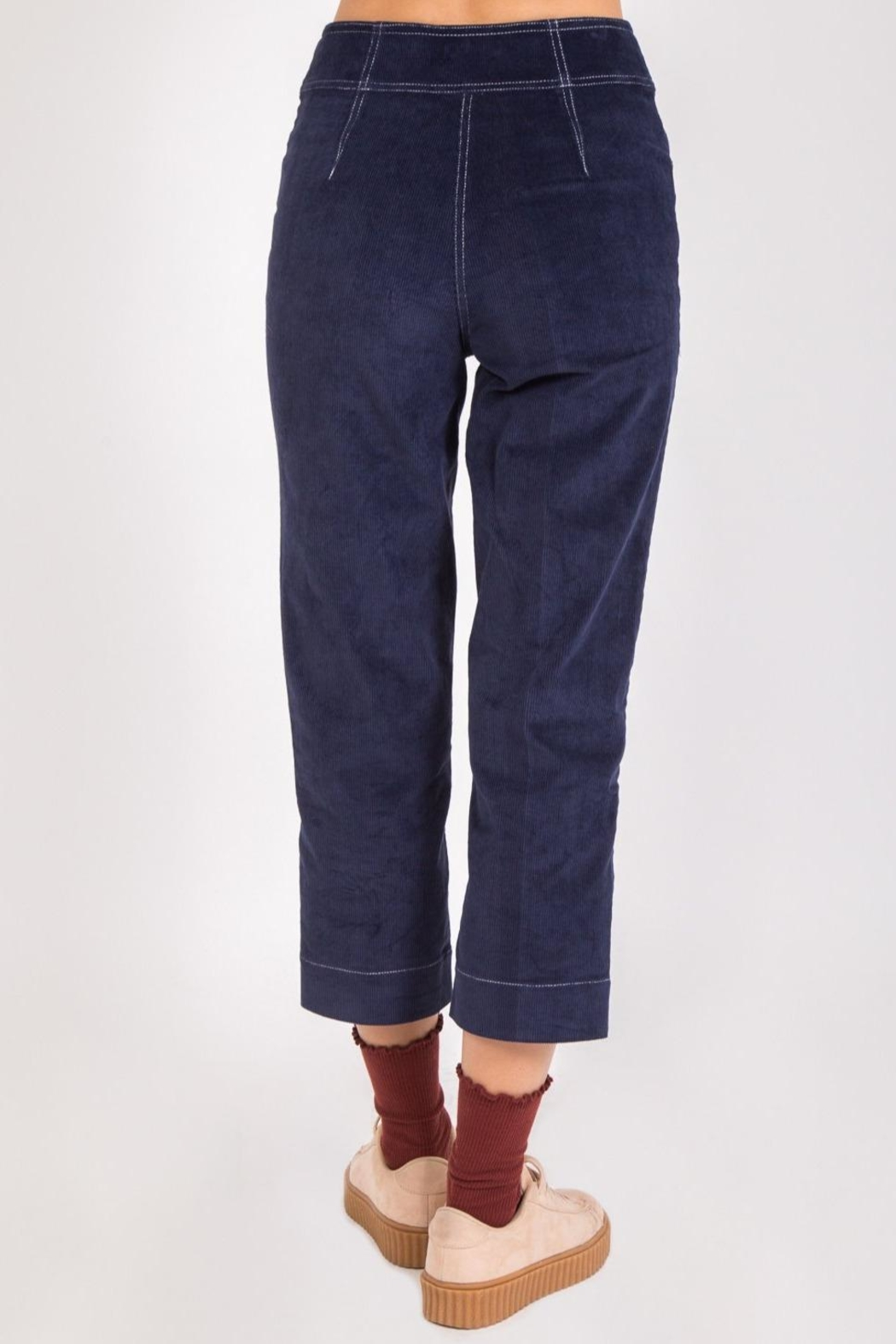 Movint Remy Corduroy Trousers - Side Cropped Image