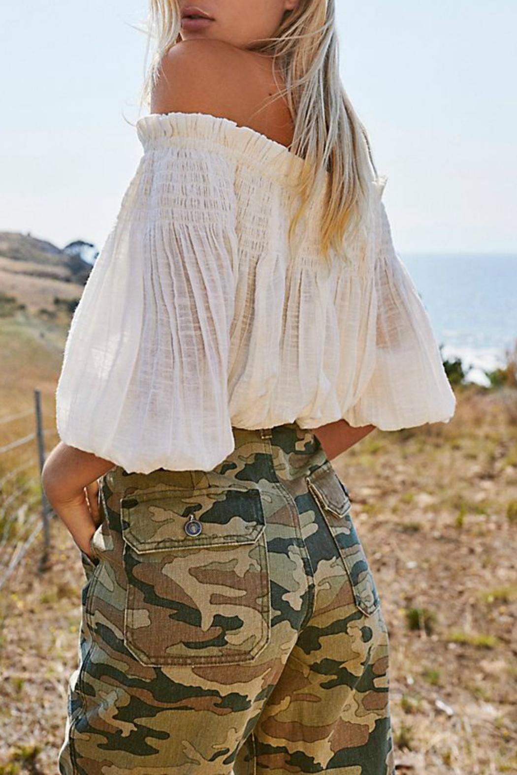 Free People Remy Pant Camo - Main Image