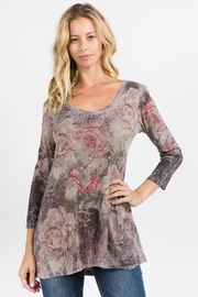 M. Rena Renaissance Rose Tunic - Product Mini Image