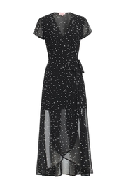 Renamed Clothing Black Star Dress - Product Mini Image