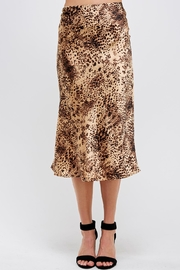 Renamed Clothing Cheetah Midi Skirt - Product Mini Image