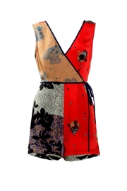 Renamed Clothing Colorblock Sleeveless Romper - Product Mini Image
