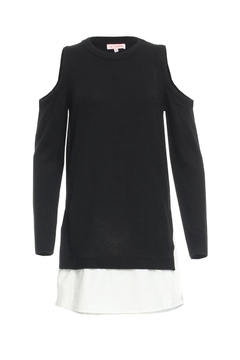 Shoptiques Product: Contrast Sweater Dress