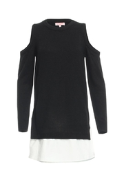 Renamed Clothing Contrast Sweater Dress - Product Mini Image