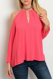 Renamed Clothing Coral Top - Product Mini Image