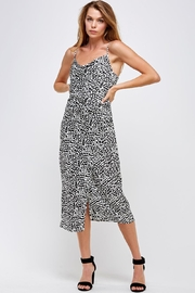 Renamed Clothing Dotted Midi Dress - Product Mini Image