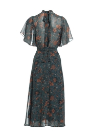 Renamed Clothing Floral Midi Dress - Front full body
