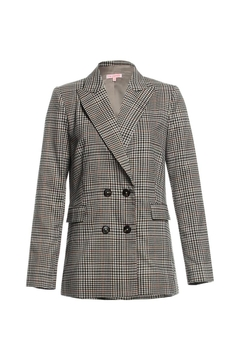 Shoptiques Product: Plaid Bf Blazer