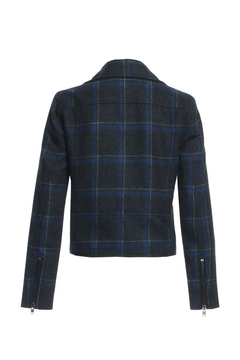Renamed Clothing Plaid Motto Jacket - Alternate List Image
