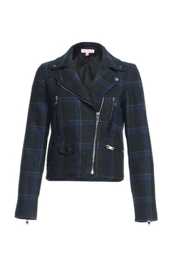 Shoptiques Product: Plaid Motto Jacket