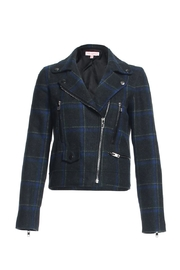Renamed Clothing Plaid Motto Jacket - Product Mini Image