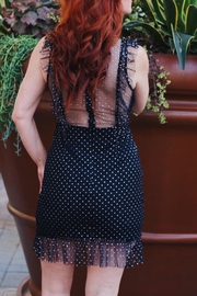 Renamed Clothing Ruffle Sparkly Dress - Front full body