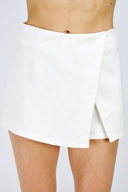 Renamed Clothing Wrap Mini Skort - Product Mini Image