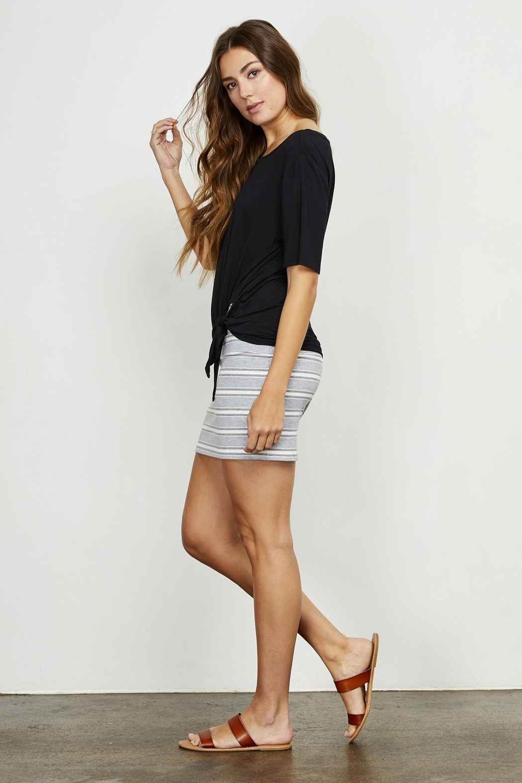 Gentle Fawn Renata Tie Top - Front Cropped Image