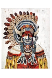 RENDR Bison Chief Print - Front cropped
