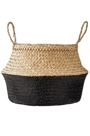 RENDR Black Seagrass Basket Large - Product Mini Image