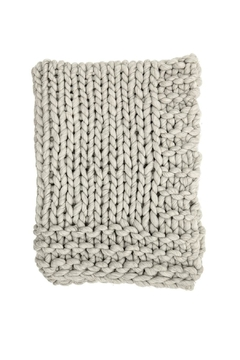 Shoptiques Product: Chunky Knit Throw