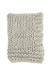 RENDR Chunky Knit Throw - Product Mini Image
