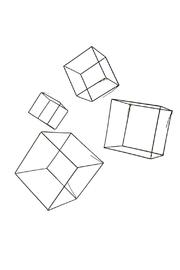 RENDR Diy Cube Sculptures - Front cropped