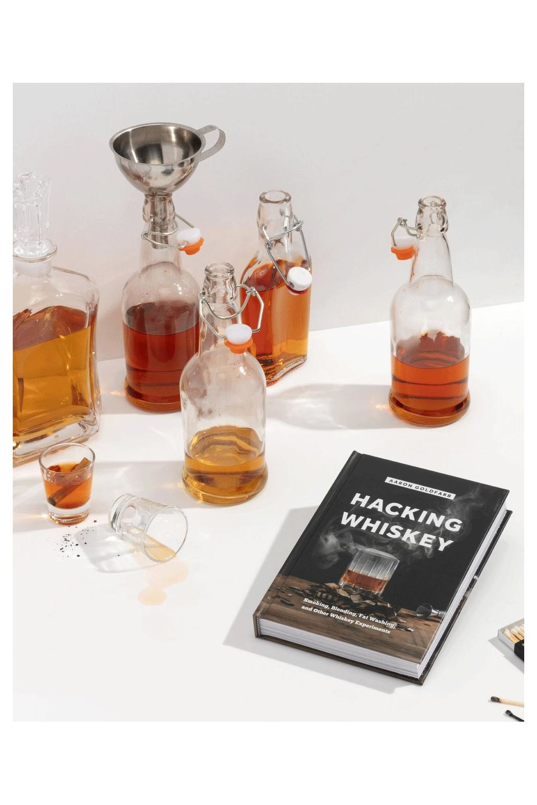 RENDR Hacking Whiskey Book - Back Cropped Image