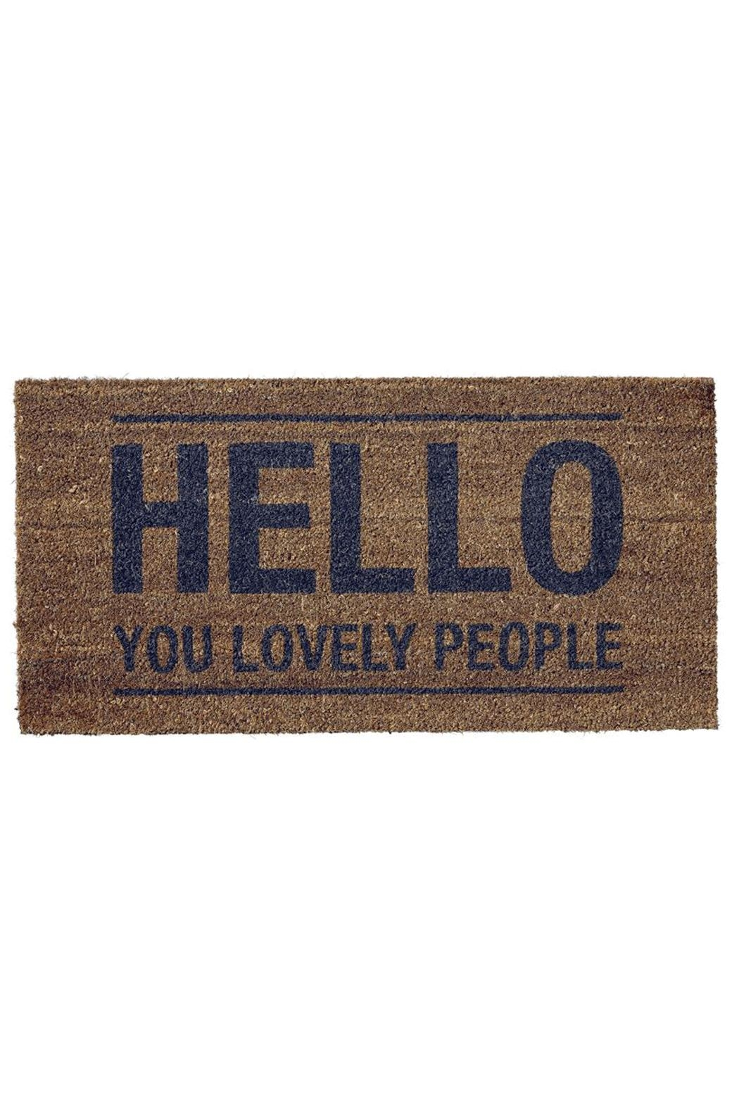 RENDR Hello Doormat   Front Cropped Image