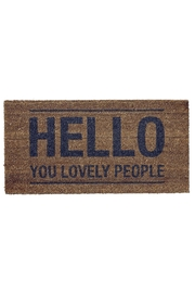 RENDR Hello Doormat - Product Mini Image