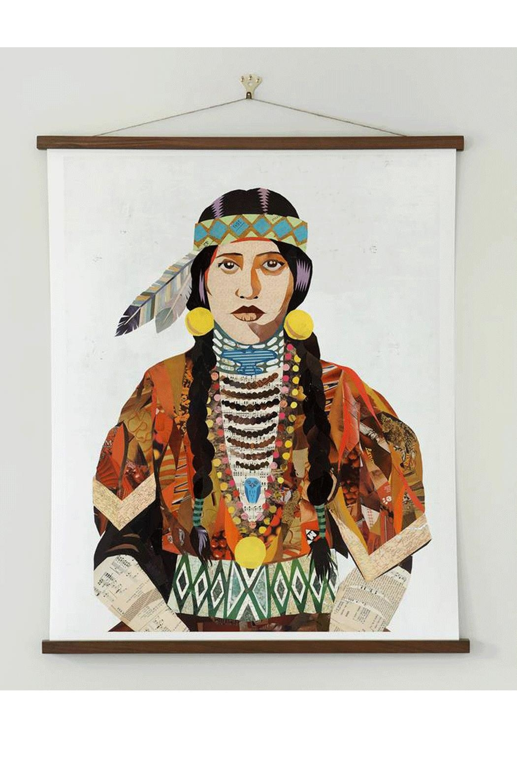 RENDR Indian Woman Print - Front Full Image