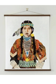 RENDR Indian Woman Print - Front full body