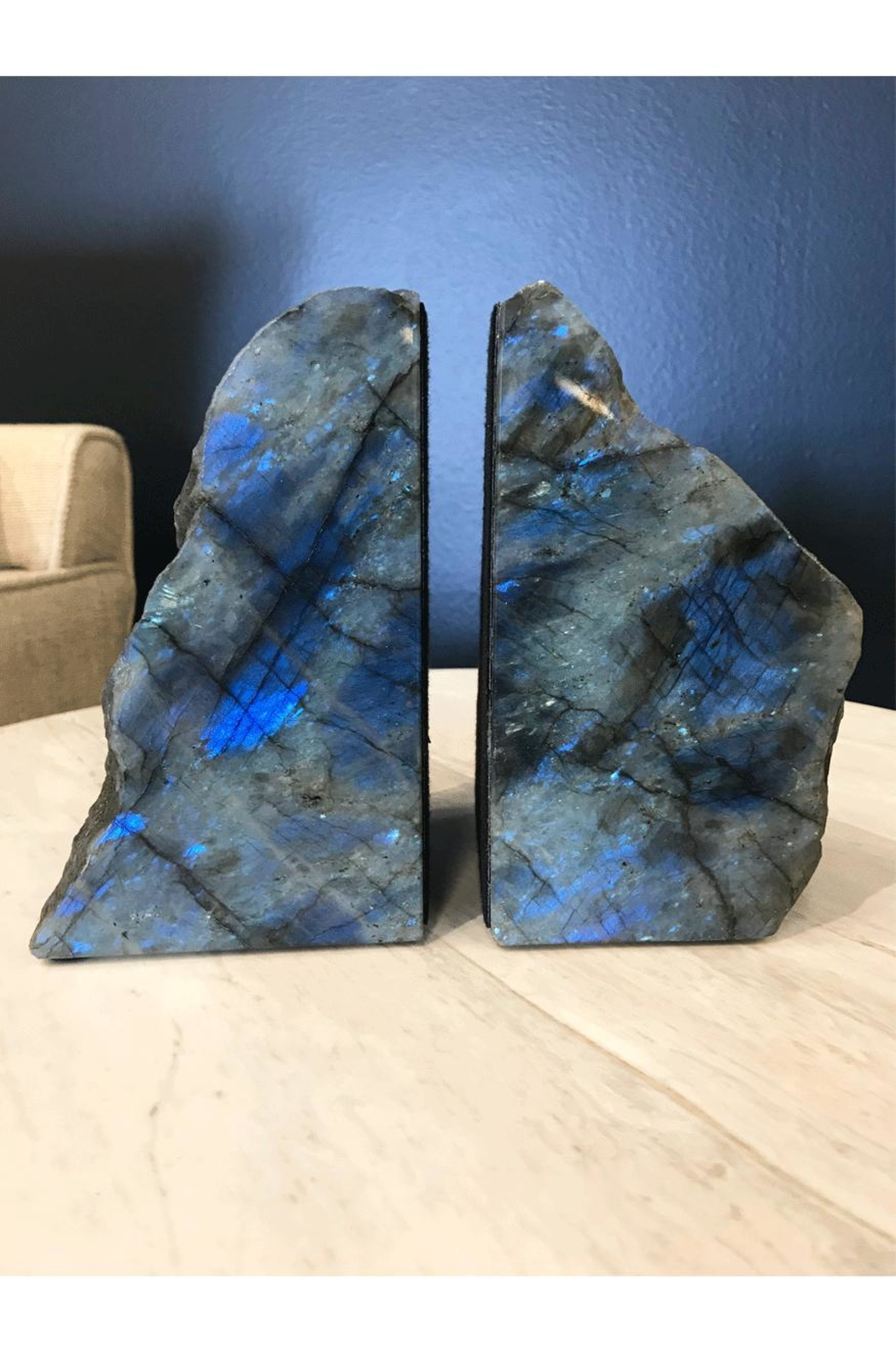 RENDR Labradorite Bookends - Front Cropped Image