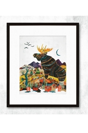 RENDR Moose Collage Print - Front full body
