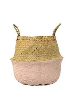 Shoptiques Product: Pink Seagrass Basket