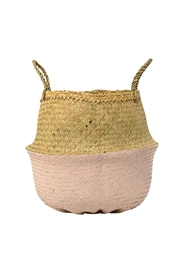 RENDR Pink Seagrass Basket - Product Mini Image