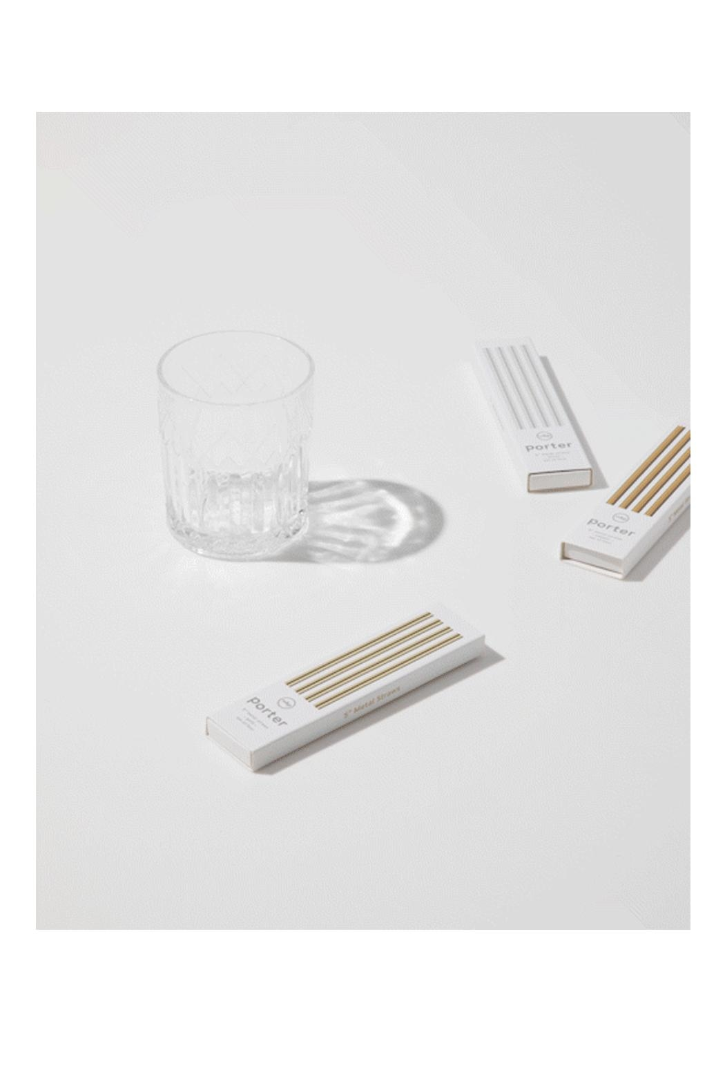 RENDR Stainless Cocktail Straws - Main Image