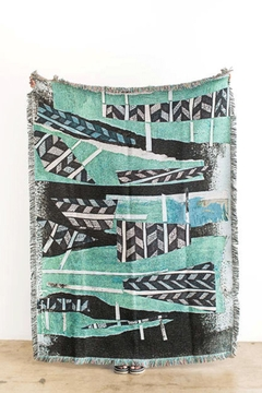 Shoptiques Product: Tiebele Woven Throw
