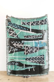 RENDR Tiebele Woven Throw - Front cropped