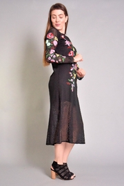 Rene Derhy Bastia Embroidered Dress - Front full body
