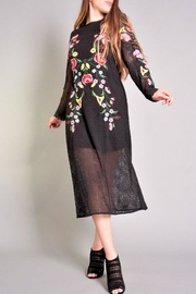 Rene Derhy Bastia Embroidered Dress - Front cropped