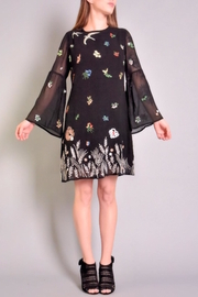 Rene Derhy Depuis Embroidered Dress - Product Mini Image