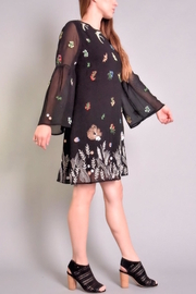 Rene Derhy Depuis Embroidered Dress - Front full body