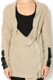 Renee C. Beige Heavy Knit Sweater - Other